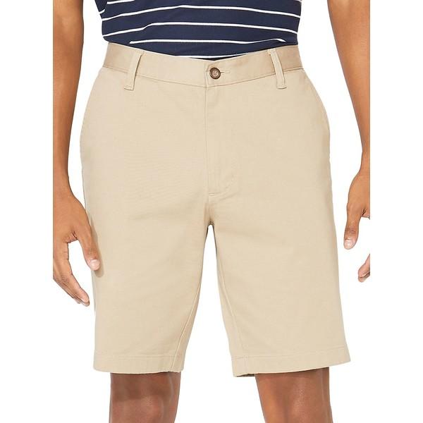 ナウティカ メンズ ハーフ&ショーツ ボトムス Classic-Fit Stretch-Cotton Shorts True Khaki