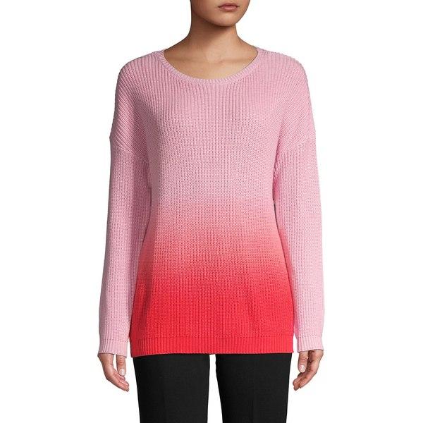 ティー・タハリ レディース ニット&セーター アウター Dip Dye Cashmere-Blend Crewneck Sweater Rose Parade