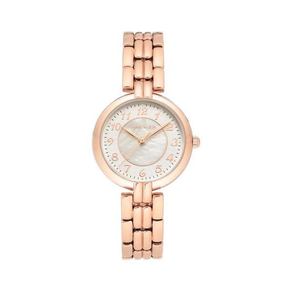 アンクライン レディース 腕時計 アクセサリー Rose Goldtone & Mother-Of-Pearl Bracelet Watch Rose Gold