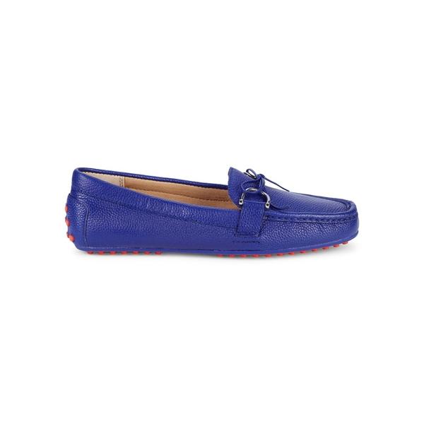 ラルフローレン レディース オックスフォード シューズ Briley Leather Loafers Blue