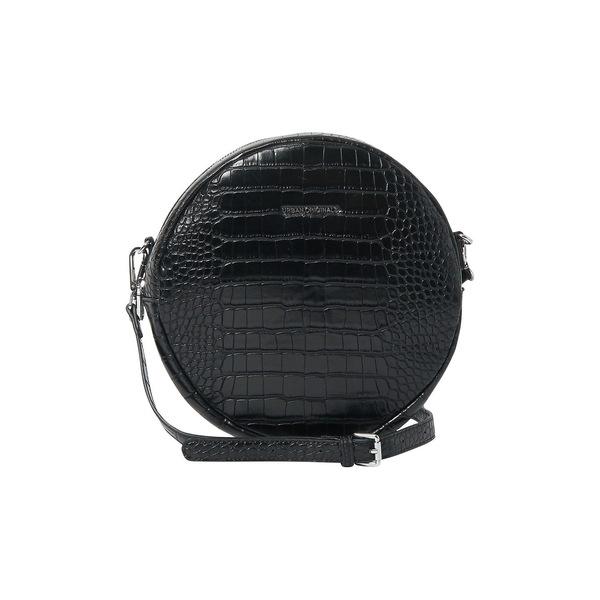 アーバンオリジナルス レディース ショルダーバッグ バッグ Magnolia Crocodile-Embossed Vegan Leather Crossbody Bag Black