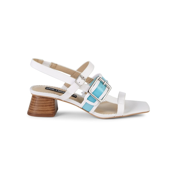 カールラガーフェルド レディース サンダル シューズ Maja Strappy Sandals Bright White