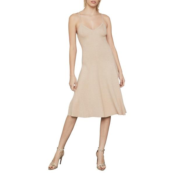 ビーシービージーマックスアズリア レディース ワンピース トップス Sleeveless Knit Midi Dress Light Nude