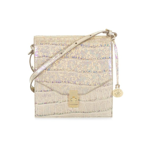ブランミン レディース ショルダーバッグ バッグ Ivory Calypso Kimmie Leather Crossbody Bag Ivory