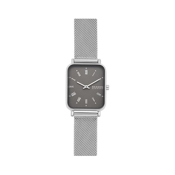 スカーゲン レディース 腕時計 アクセサリー Ryle Stainless Steel Mesh Bracelet 2-Hand Watch Silver