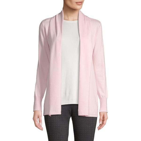 プレミス レディース ニット&セーター アウター Open Cardigan Pink