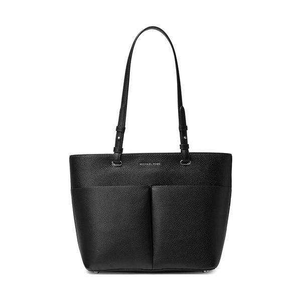 マイケルコース レディース トートバッグ バッグ Bedford Pebbled Leather Tote Bag Black