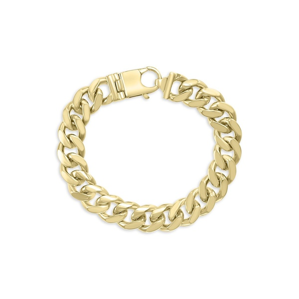 エフィー メンズ ネクタイ アクセサリー Men's Goldplated Sterling Silver Link Bracelet Gold