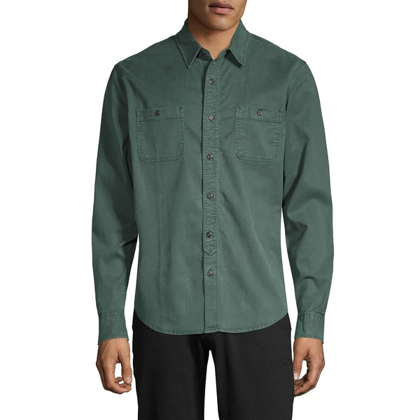 ラッキーブランド メンズ シャツ トップス Mason Workwear Button-Down Shirt Spruce