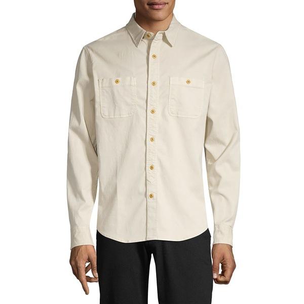 ラッキーブランド メンズ シャツ トップス Mason Workwear Button-Down Shirt Moonstruck