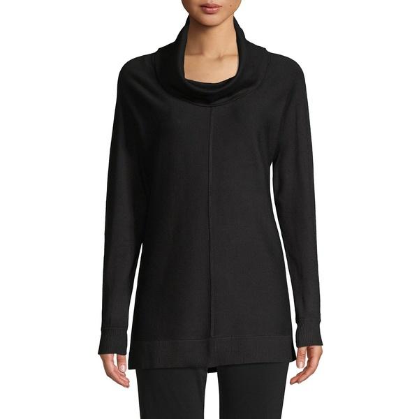 ジョアンバス レディース ニット&セーター アウター Dolman-Sleeve Cowlneck Sweater Black