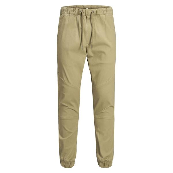 ジャック アンド ジョーンズ メンズ カジュアルパンツ ボトムス Drawstring Stretch-Cotton Jogger Pants Kelp