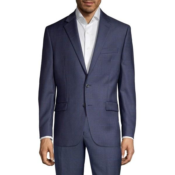 ラルフローレン メンズ ジャケット&ブルゾン アウター Classic Fit Wool-Blend Windowpane Suit Separate Jacket Navy