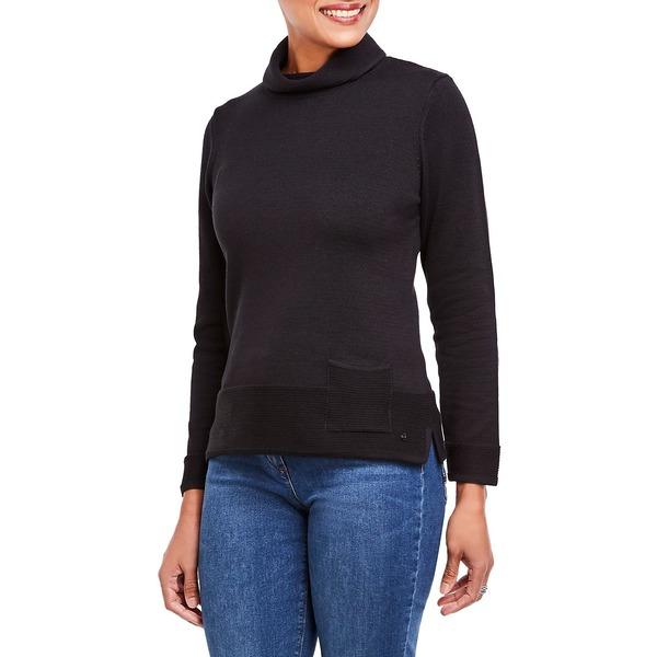 オルセン レディース ニット&セーター アウター Long Sleeve Turtleneck Sweater Black