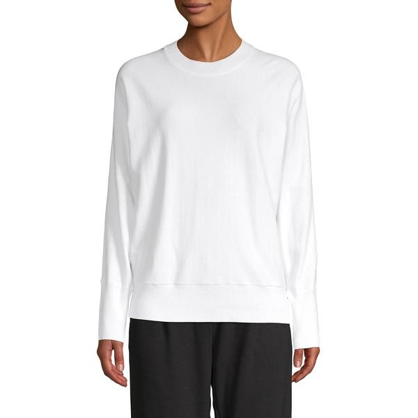 エイチ ホルストン レディース ニット&セーター アウター Dolman-Sleeve Pullover Sweater White