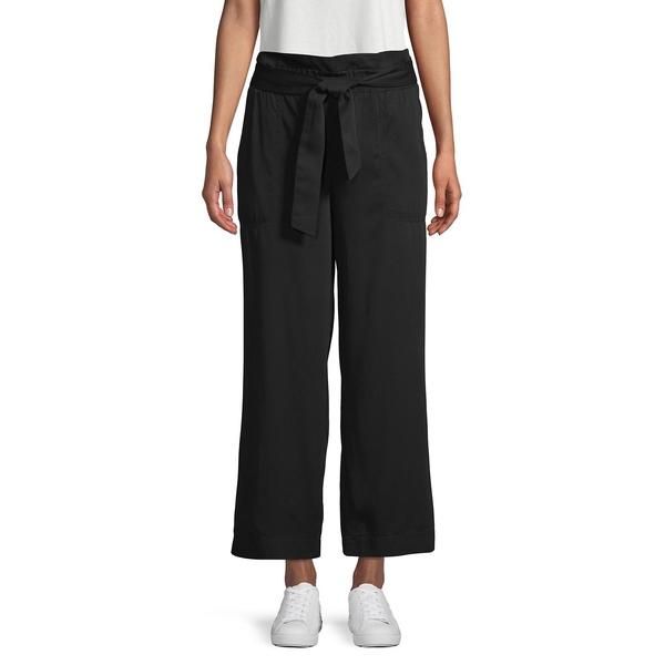 ジョーンズニューヨーク レディース カジュアルパンツ ボトムス Cropped Paperbag Pants Black