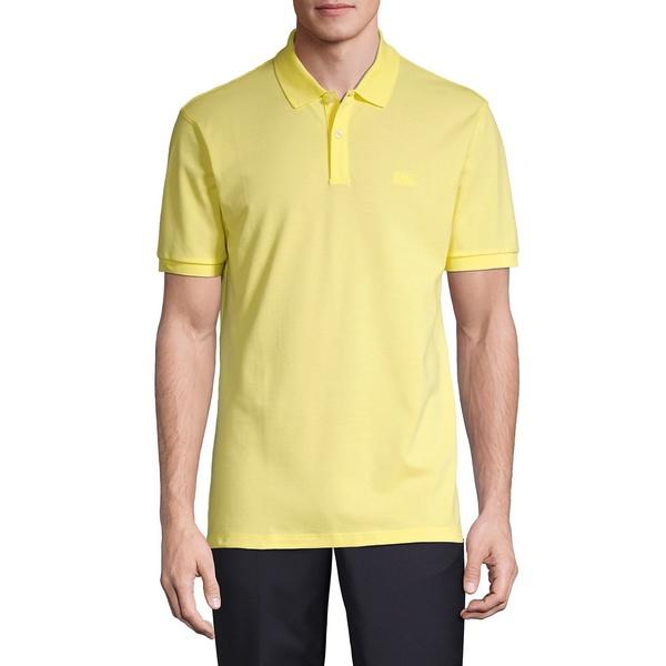 ヒューゴボス メンズ シャツ トップス Pallas Polo Yellow