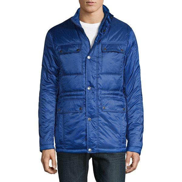 マイケルコース メンズ ジャケット&ブルゾン アウター Classic Utility Jacket Marine Blue