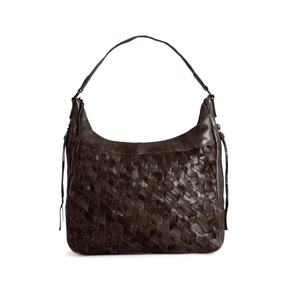 ダイアンドムード レディース ショルダーバッグ バッグ Elin Leather Hobo Bag Chocolate