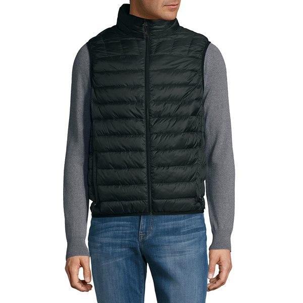ハウクアンドコー メンズ ジャケット&ブルゾン アウター Packable Quilted Down Vest Black