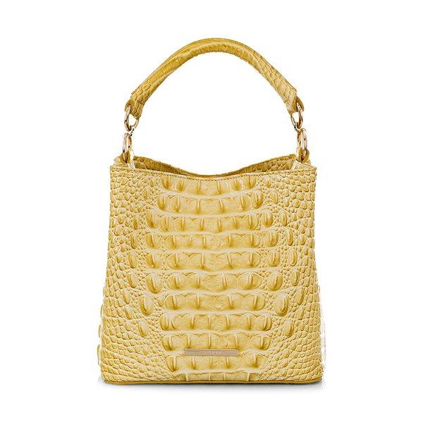 ブランミン レディース ハンドバッグ バッグ Mini Amelia Leather Bucket Bag Lemonade