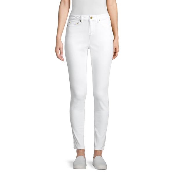 マイケルコース レディース デニムパンツ ボトムス Hi-Rise Stretch Skinny Jeans White
