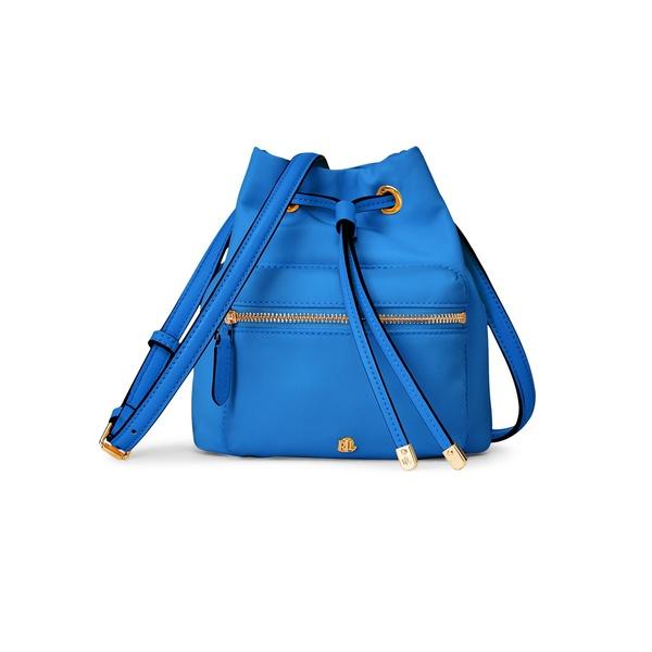 ラルフローレン レディース ショルダーバッグ バッグ Nylon Mini Debby II Bag Masai Blue