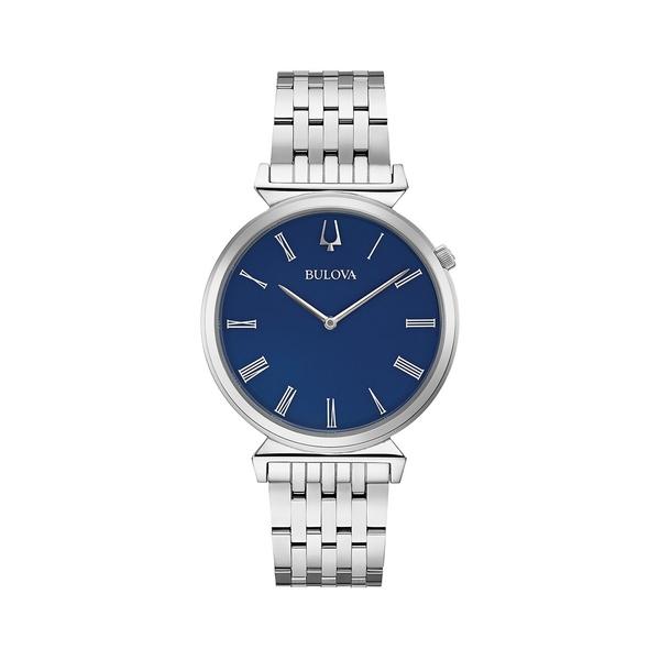 ブロバ レディース 腕時計 アクセサリー Regatta Stainless Steel Bracelet Watch Silver