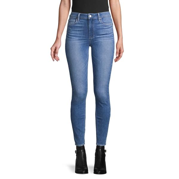 ペイジジーンズ レディース デニムパンツ ボトムス Stretch Ankle-Length Jeans Hoston Blue