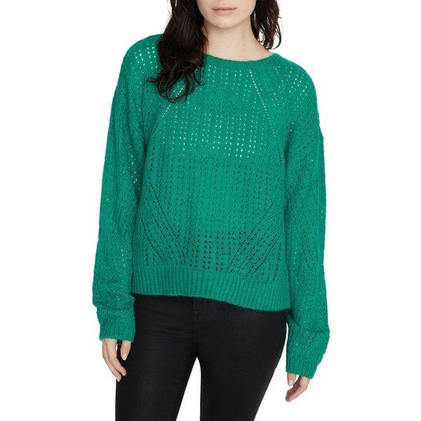 サンクチュアリー レディース ニット&セーター アウター Perforated Roundneck Sweater Emerald