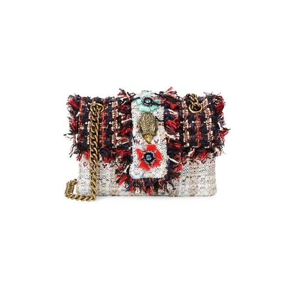 カートジェイガーロンドン レディース ハンドバッグ バッグ Tweed Kensington Crossbody Bag Red