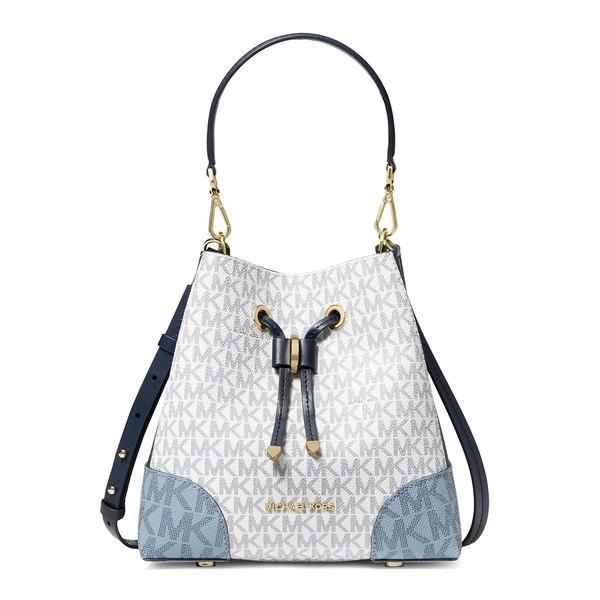 マイケルコース レディース ショルダーバッグ バッグ Small Mercer Gallery Crossbody Bag Navy Multi