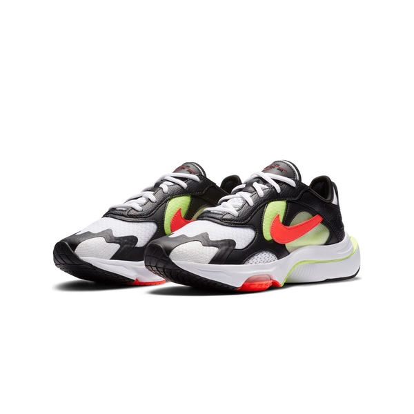 ナイキ レディース スニーカー シューズ Nike Air Zoom Division sneaker in black and neon Black