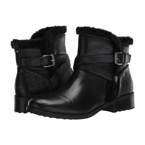 イージースピリット レディース ブーツ&レインブーツ シューズ Rumi Black Leather