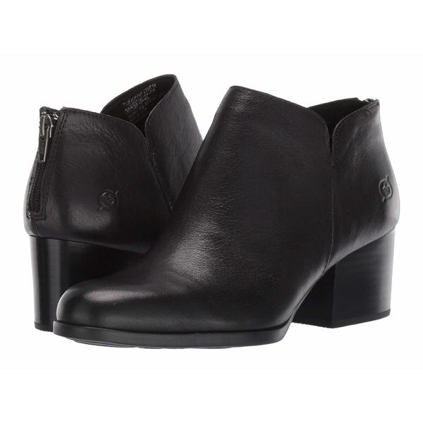 ボーン レディース ブーツ&レインブーツ シューズ Aare Black Full Grain Leather