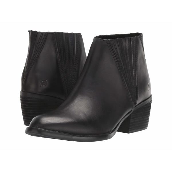 ボーン レディース ブーツ&レインブーツ シューズ Sacramento Black Full Grain Leather