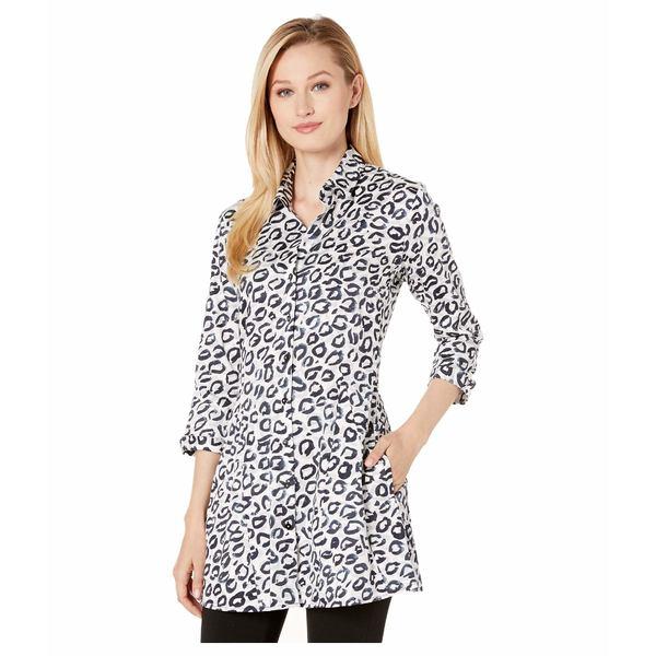 ニックプラスゾーイ レディース シャツ トップス Leopard Kisses Shirt Jacket Multi