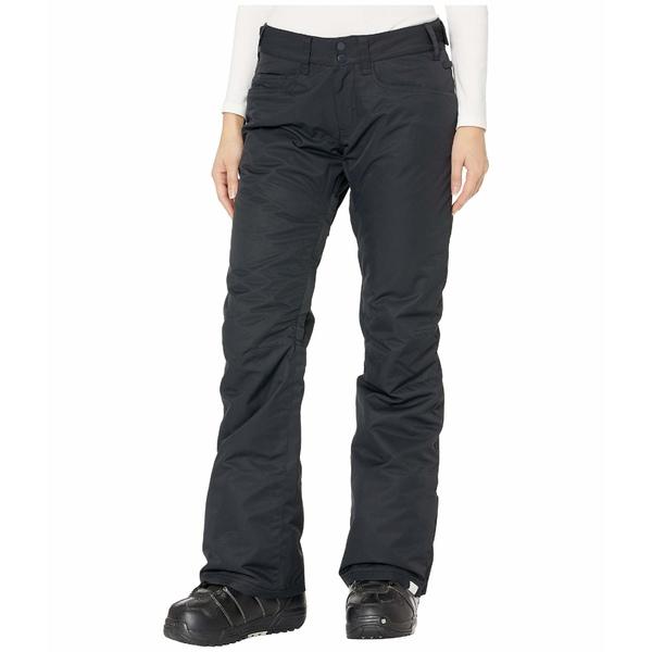 ロキシー レディース カジュアルパンツ ボトムス Backyard Snow Pants True Black