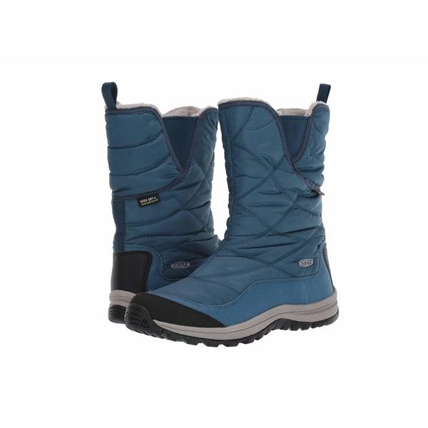 キーン レディース シューズ ブーツ&レインブーツ Stellar/Majolica Blue 全商品無料サイズ交換 キーン レディース ブーツ&レインブーツ シューズ Terradora Pull-On Waterproof Boot Stellar/Majolica Blue