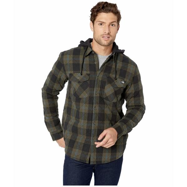 ソルティクルー メンズ コート アウター Dock Flannel Jacket Olive