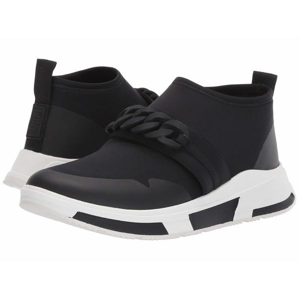 フィットフロップ レディース スニーカー シューズ Heda Chain Slip-On Sneaker Black