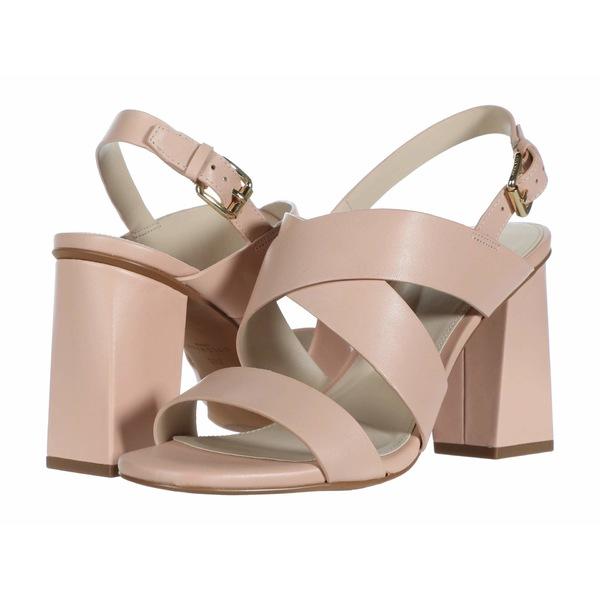 コールハーン レディース ヒール シューズ Cynthia Block Heel Sandal 85mm Mahogany Rose Leather
