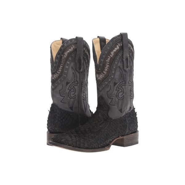 コーラルブーツ メンズ ブーツ&レインブーツ シューズ A3085 Black