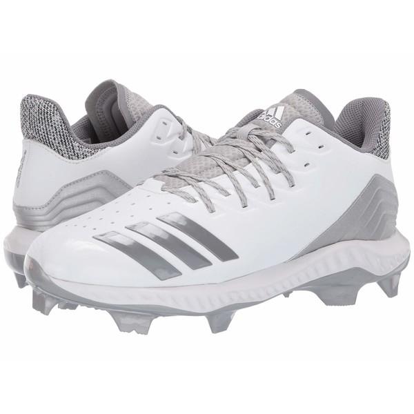 アディダス メンズ スニーカー シューズ Icon Bounce TPU Footwear White/Grey Three F17/Grey Two F17