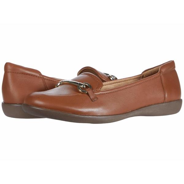 ナチュライザー レディース スリッポン・ローファー シューズ Fern Saddle Tan Leather