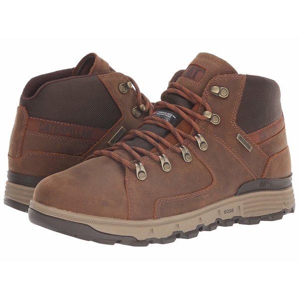 キャタピラー メンズ ブーツ&レインブーツ シューズ Stiction Hiker Ice + Waterproof TX Brown Sugar