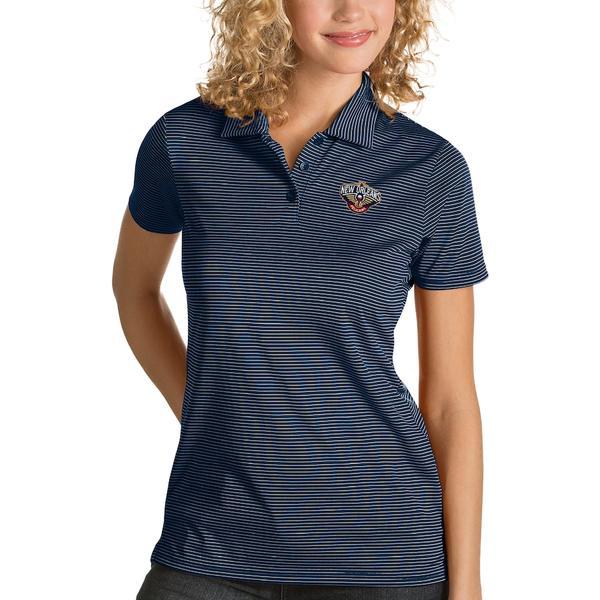 アンティグア レディース ポロシャツ トップス New Orleans Pelicans Antigua Women's Quest Polo Navy