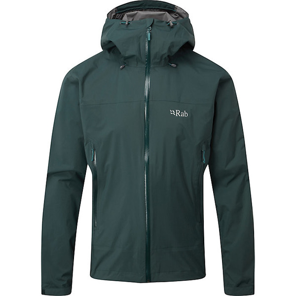 ラブ レディース ジャケット&ブルゾン アウター Rab Men's Downpour Plus Jacket Pine