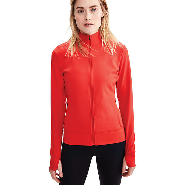 ロル レディース ジャケット&ブルゾン アウター Lole Women's Essential Up Cardigan Flame Red