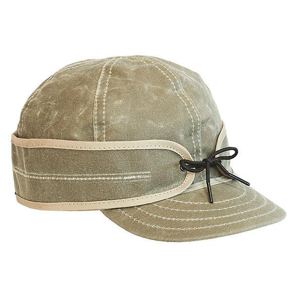 ストーミー クローマー レディース 帽子 アクセサリー Stormy Kromer Waxed Cotton Cap Field Tan